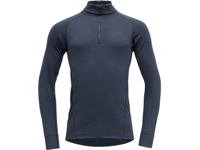 Devold Duo Active Sweat-shirt Col roulé avec Zip Homme, ink